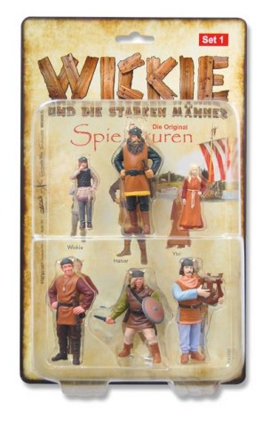 Wickie Spielfiguren-Set 1