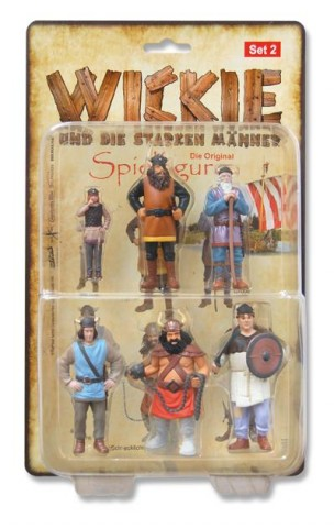 Wickie Spielfiguren-Set 2