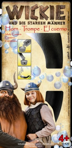 Wickie Seifenblasen-Horn