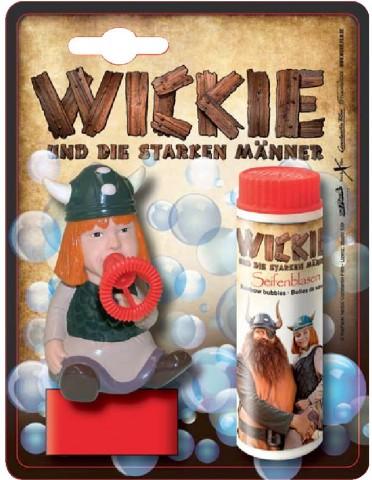 Wickie Seifenblasen-Drückfigur