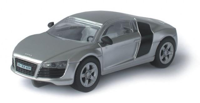 Audi R8, silber