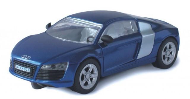 Audi R8, blau