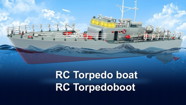 Seamaster 2.4 GHz RC Torpedoboot
