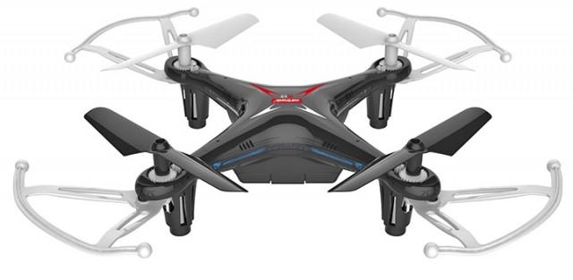 2.4 GHZ Quadrocopter Q13 Storm black