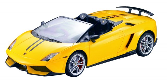 RC Lamborghini Gallardo LP 570-4 Spyder Performante M1:14, gelb