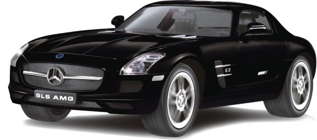 RC Mercedes Benz SLS AMG M1:14, schwarz