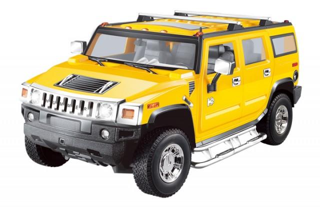 RC Hummer H2 M1:14, gelb