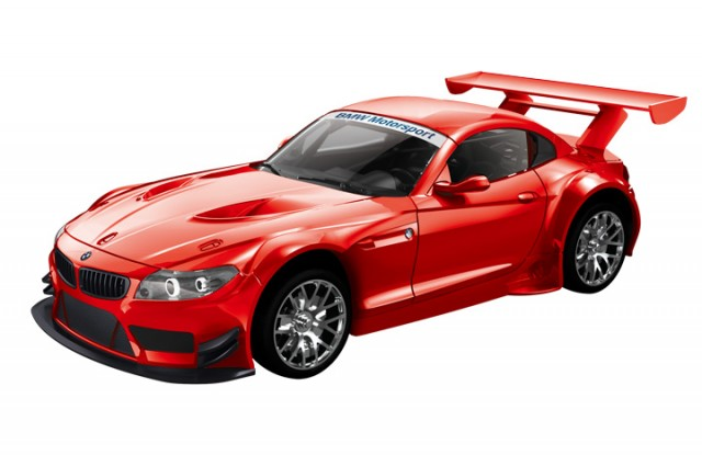 RC BMW Z4 GT3 M1:14, 2.4 GHz, rot