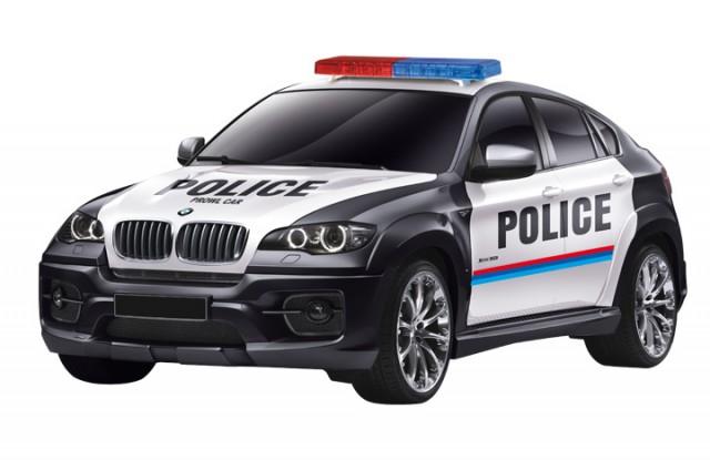 RC BMW X6 Police Car M1:14, 2.4 GHz