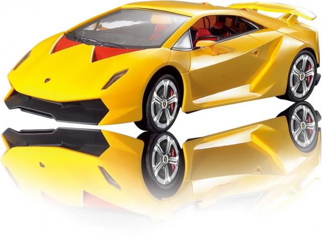 RC Lamborghini Sesto Elemento M1:18, gelb