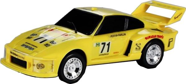 RC Porsche Turbo 935, gelb