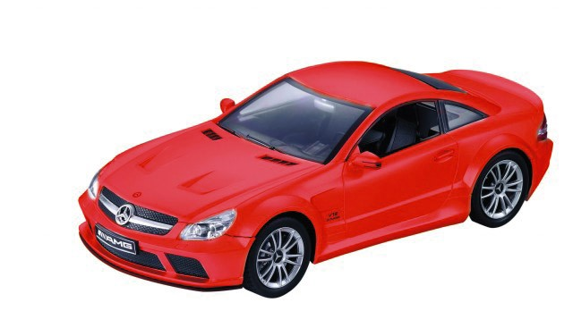 RC Mercedes-Benz SL 65 AMG M1:24, rot - inklusive aller Batterien