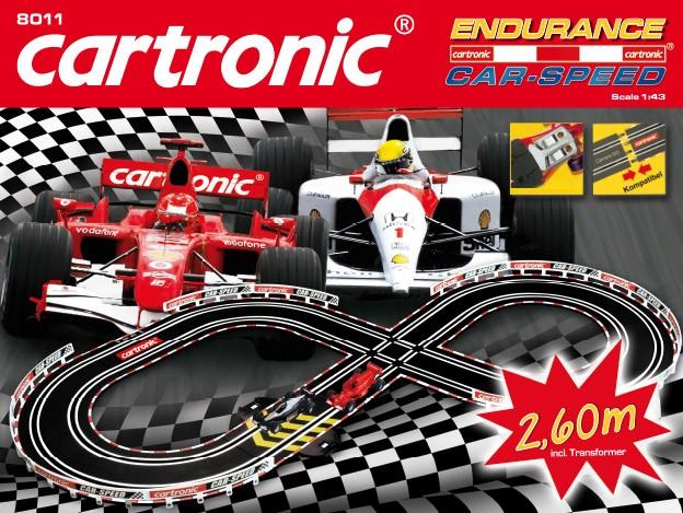 """Cartronic Car-Speed """"Endurance"""" 2,60m mit Kreuzung"""