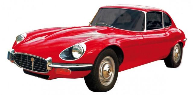 Jaguar E-Type, Bj. 1963, rot