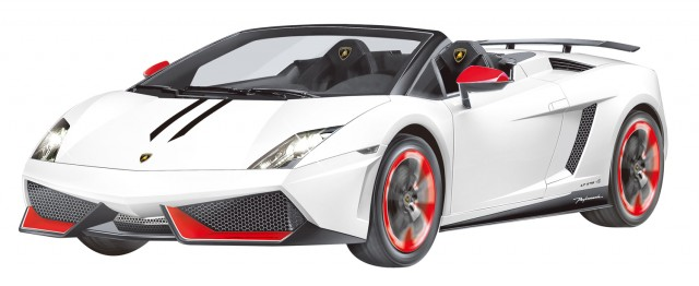 RC Lamborghini Gallardo LP 570-4 Spyder Performante M1:14, weiß