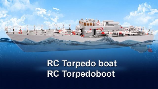 Seamaster RC Torpedoboot