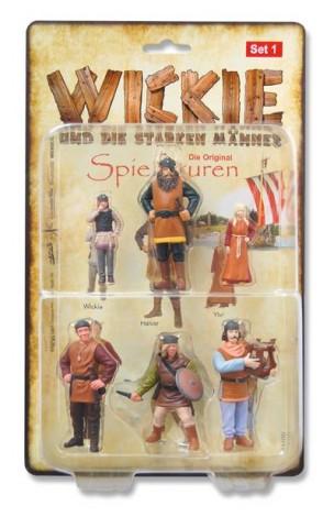 Wickie Spielfiguren-Set 1