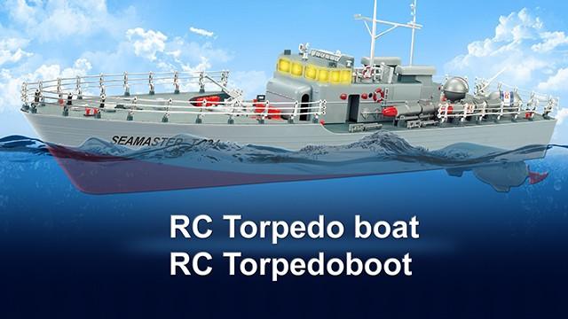 Seamaster 2.4 GHz RC Torpedoboot