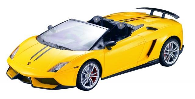 RC Lamborghini Gallardo LP 570-4 Spyder Performante M1:14, gelb