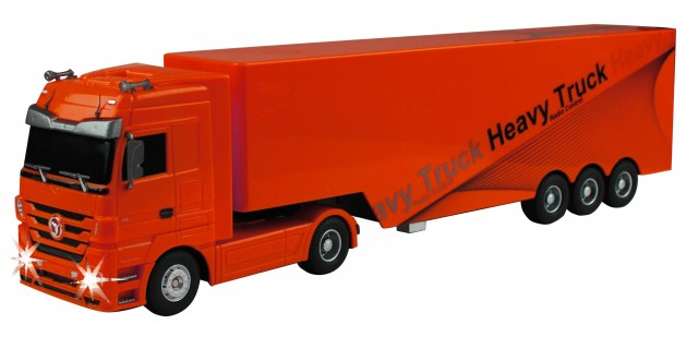 RC Truck Mercedes Benz Actros, rot