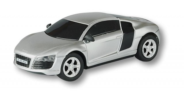 RC Audi R8, silber