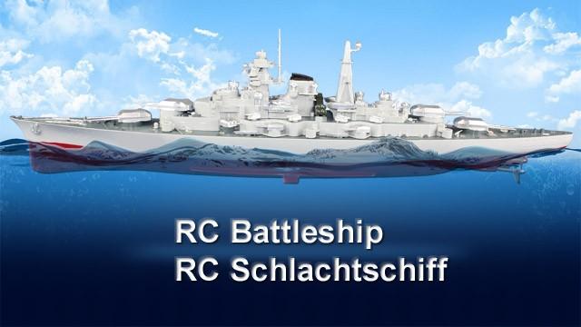Seamaster RC Schlachtschiff