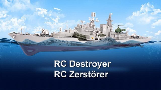 Seamaster RC Zerstörer