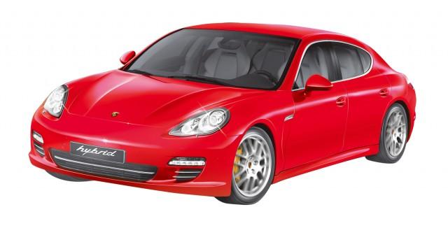 RC Porsche Panamera S Hybrid M1:14, rot